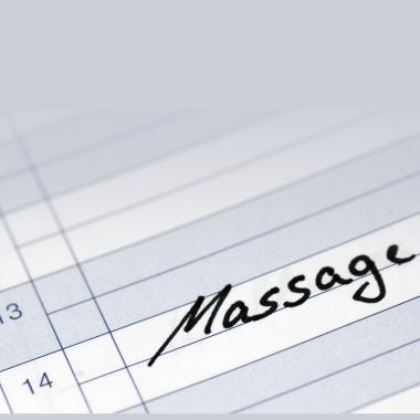 Massage Appointments